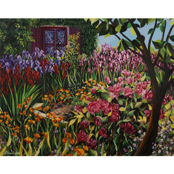 My Neighbours Garden 76x62cm - $2,500