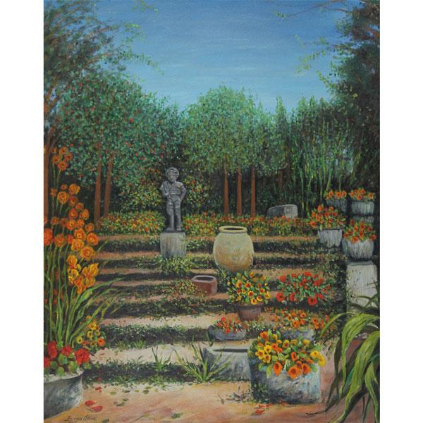Secret Garden 62x76cm- SOLD