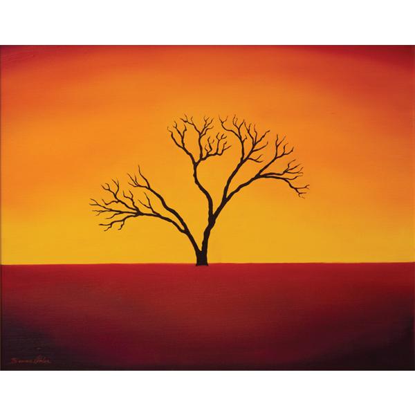 Desert Sunset 50x40cm -SOLD
