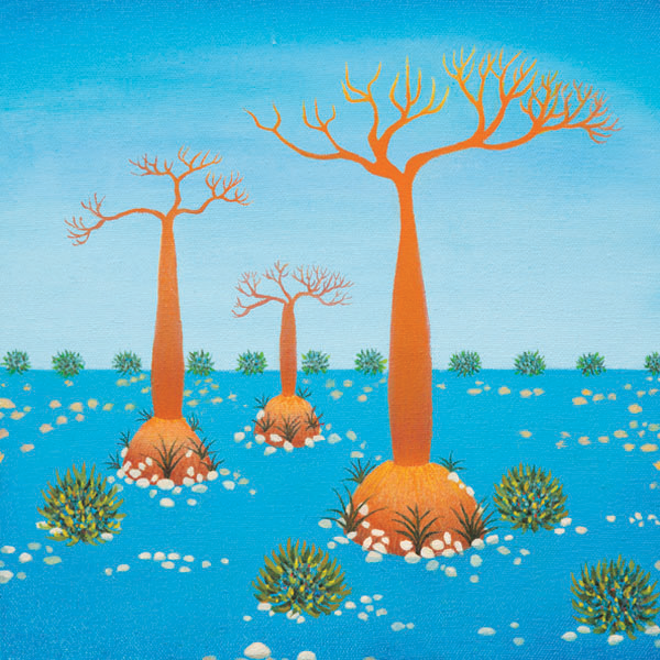 Baobab Trio - 30 x 30 cm - SOLD