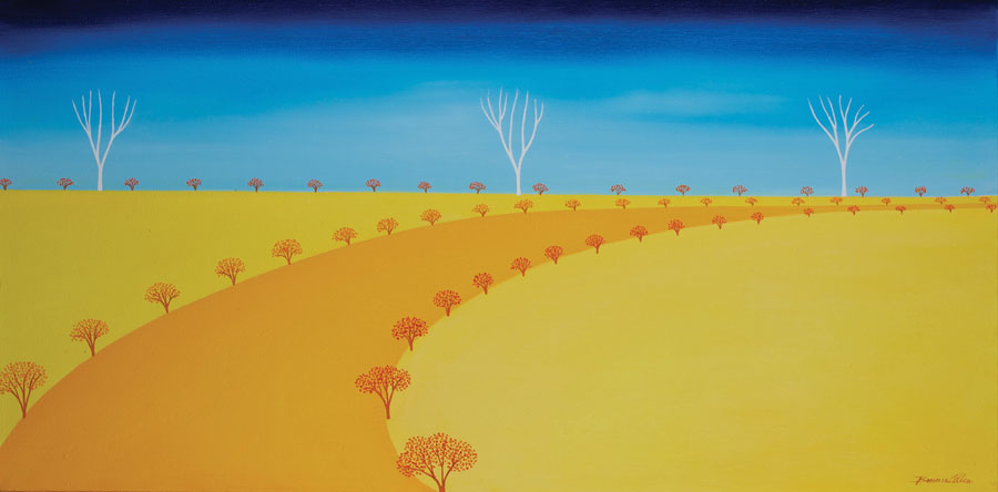 A Warm Autumn Day - 80 x 40cm- SOLD