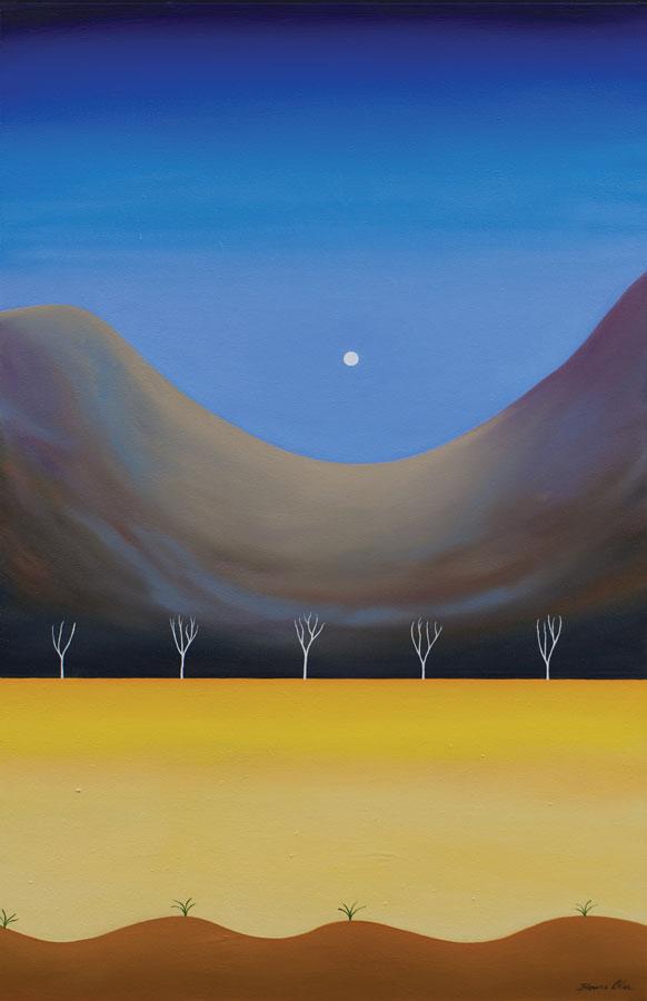 Full Moon 64 x100cm - $3,100
