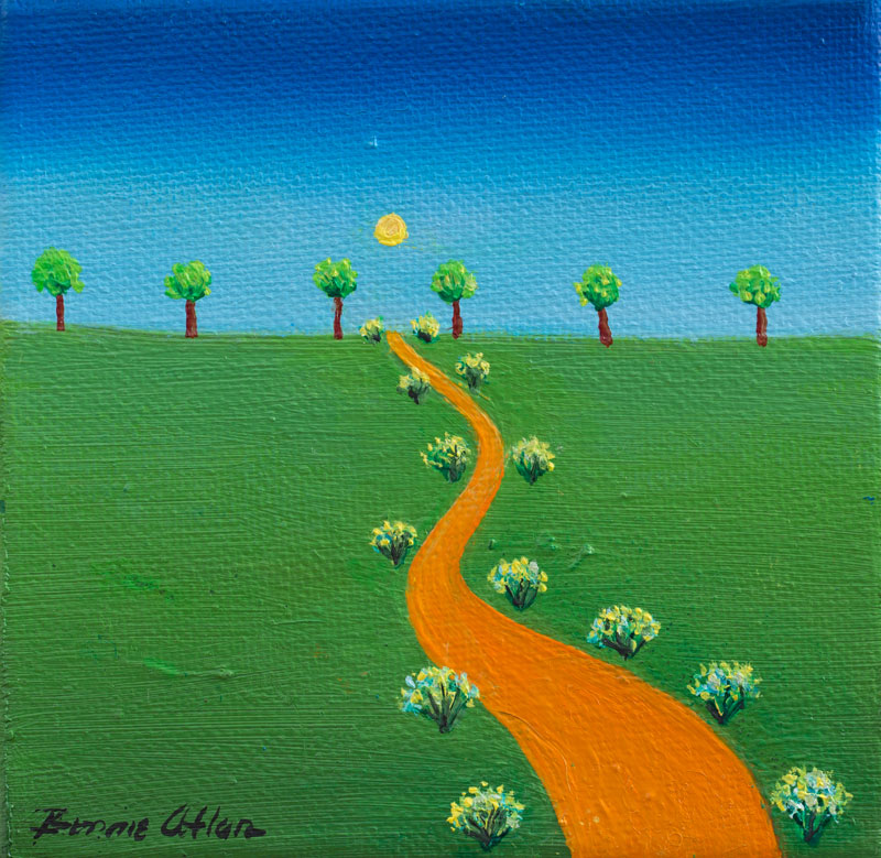 My Way 10 x 10cm - SOLD