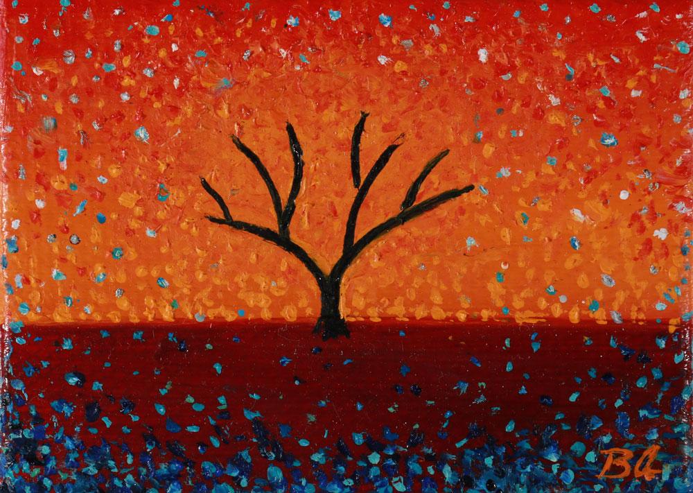 Confetti Sky - 7 x 5 cm - SOLD