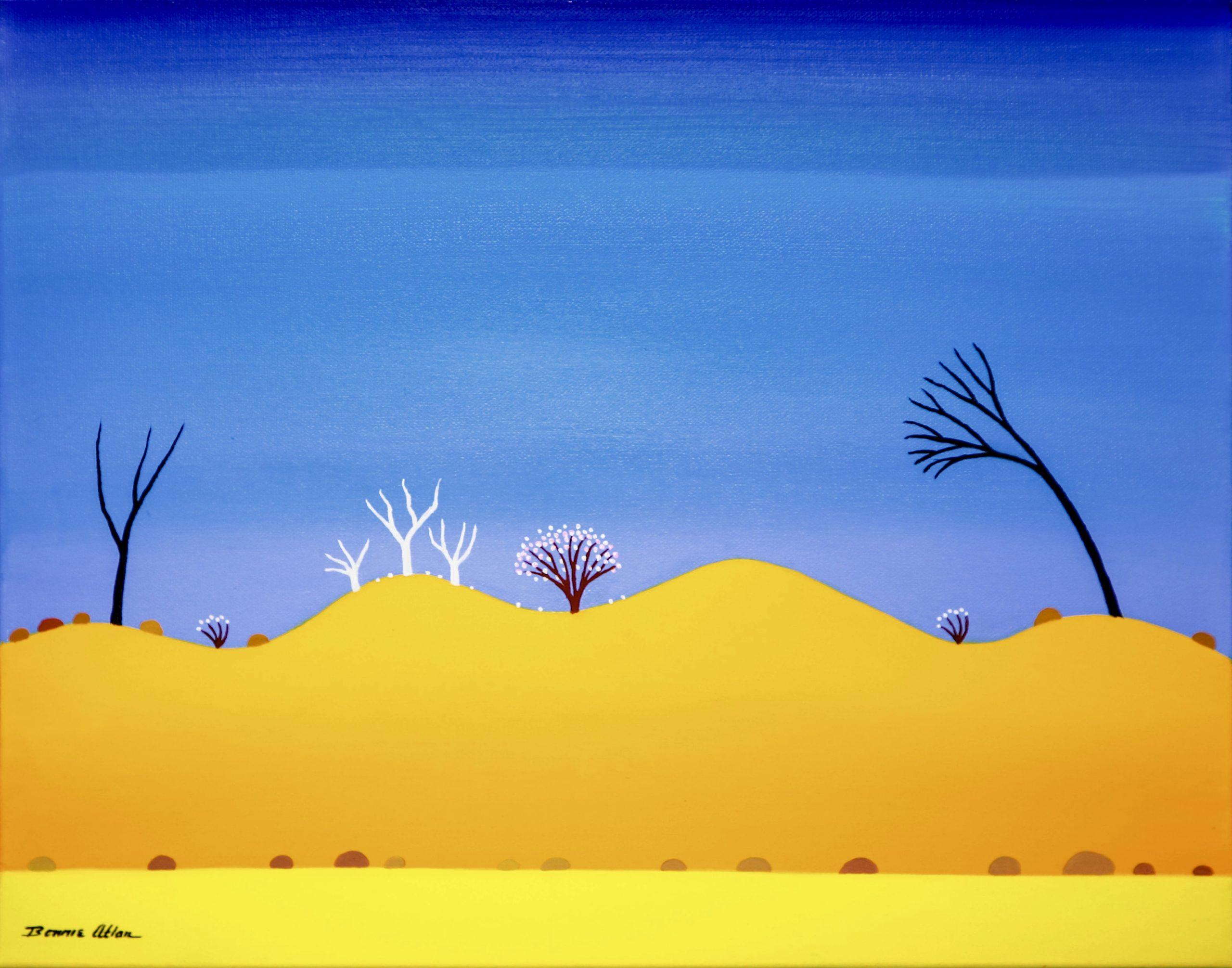 Desert Life - 45 x 36 cm $1,400