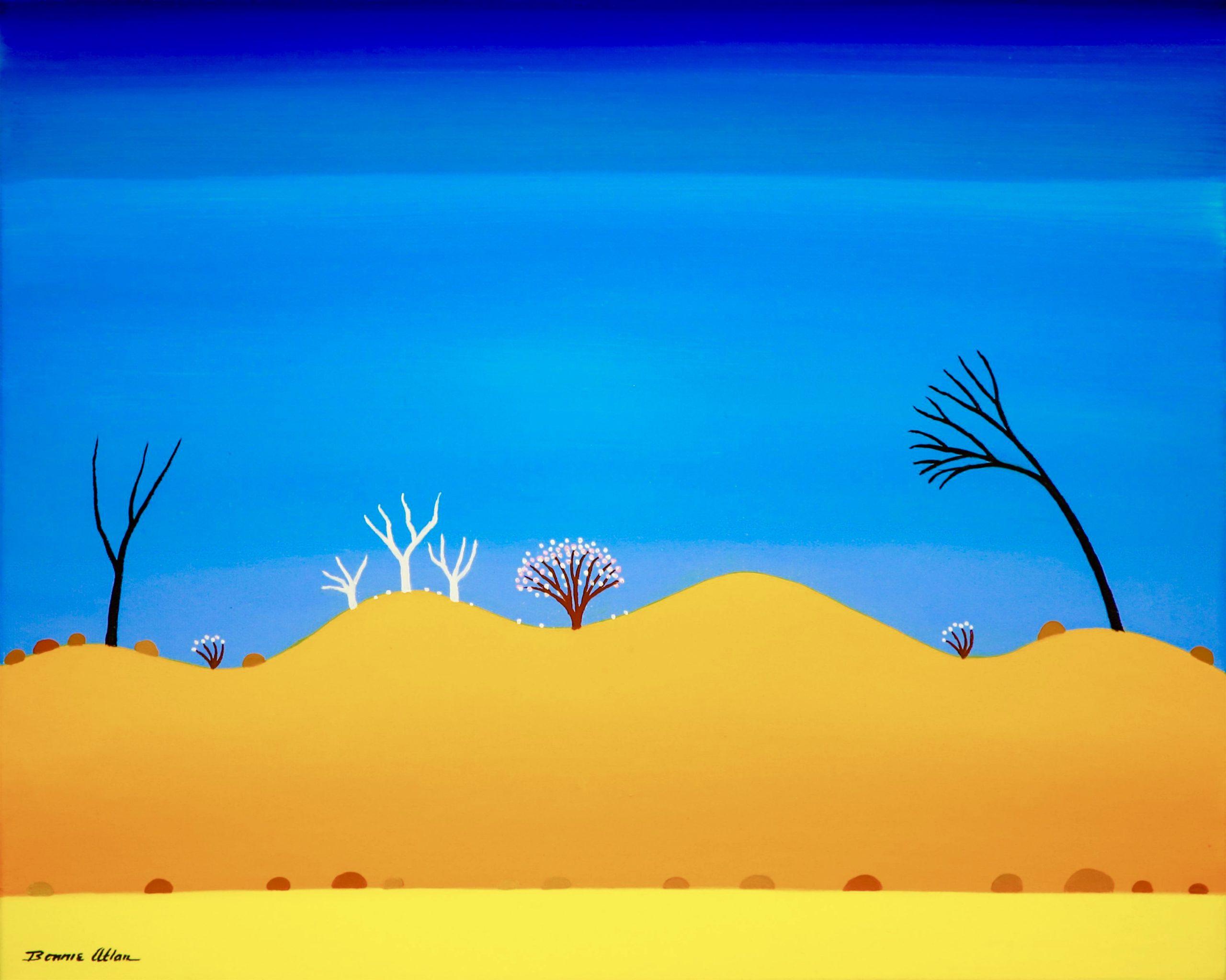 Desert Life - 45 x 36 cm - $1,100