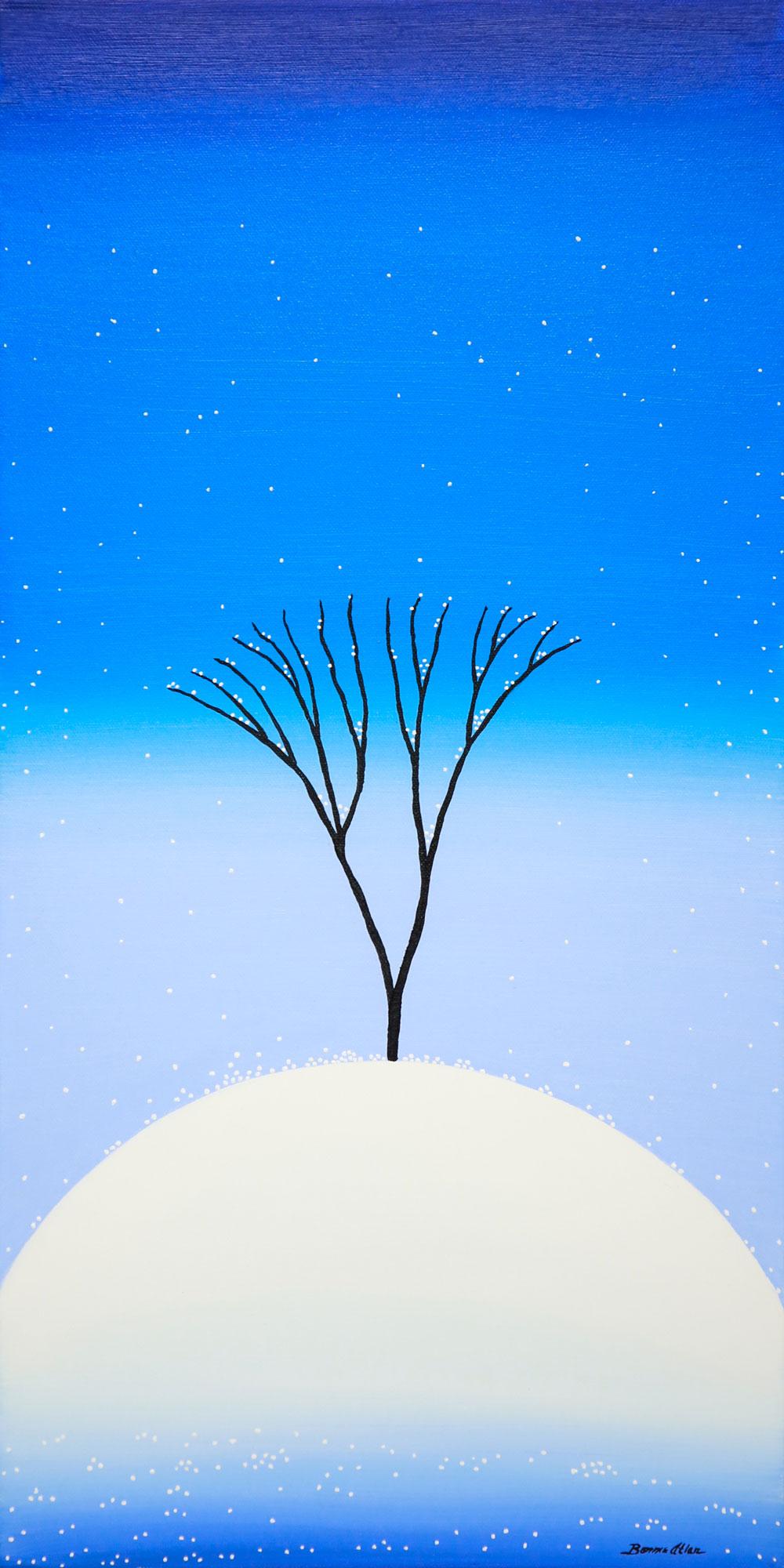 Fresh Snowy Day - 30 x 61 cm - $1,500
