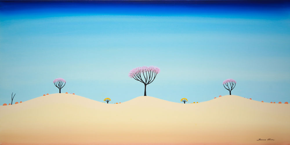 A New Day - 92 x 48 cm - $2,200
