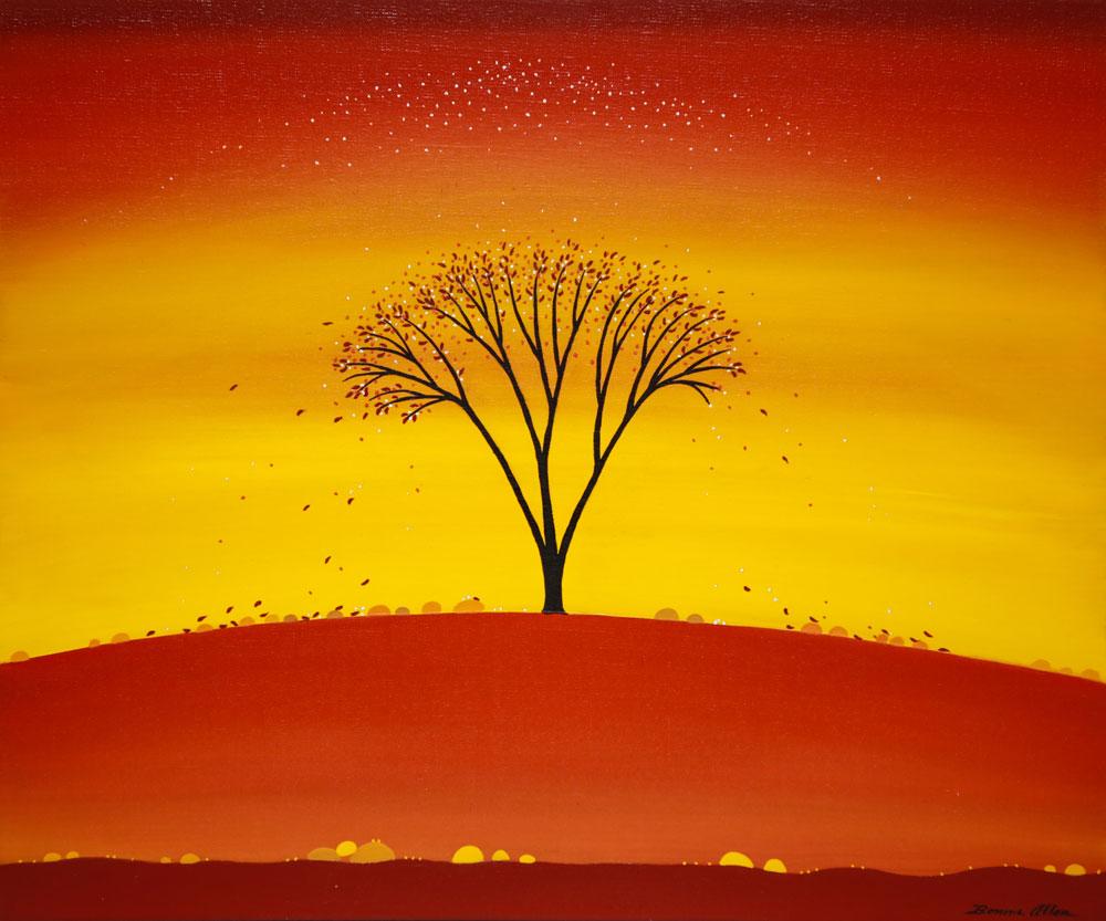 Autumn Dance - 61 x 51 cm -$2,400