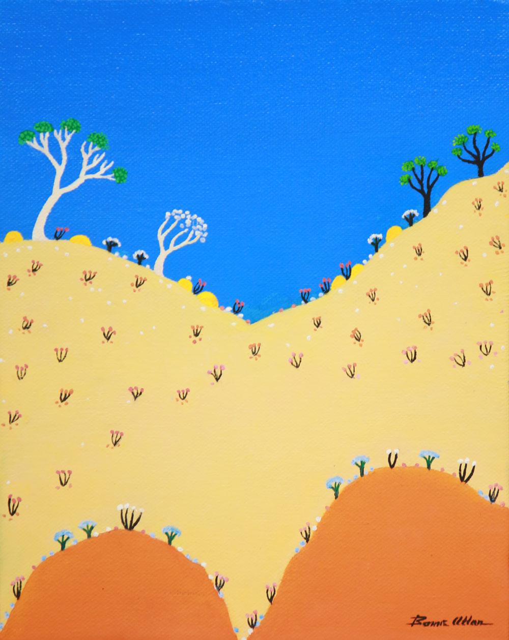 Tangerine Hill - 25 x 30 cm - $750